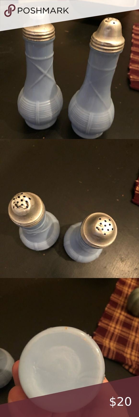 Antique salt and pepper shakers Antique salt and p