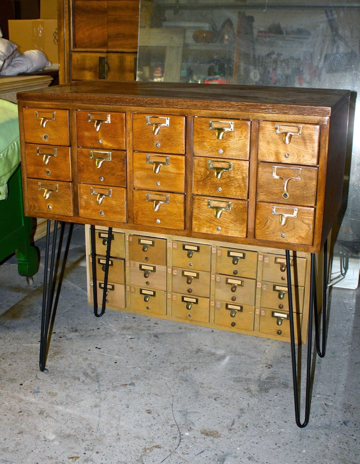 The Elusive Card Catalogs and How I Repurposed Min