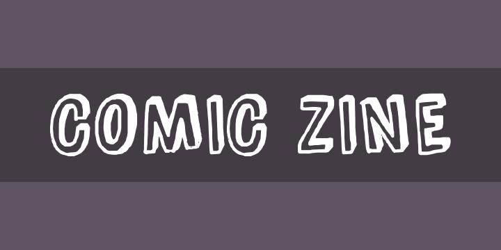 Free  Comic Zine Font by Blue Vinyl Fonts » Font Squirrel