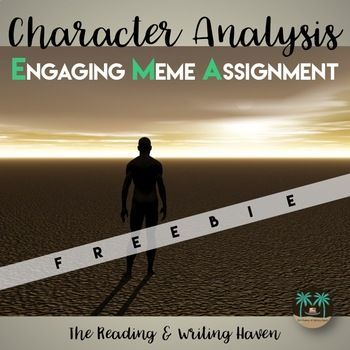 Character Analysis Meme Assignment by The Reading and Writing - character analysis
