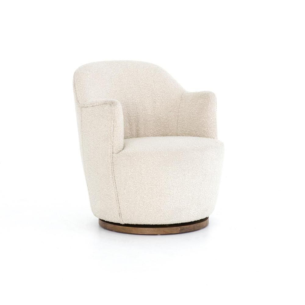 Boucle Swivel Chair Swivel Chair Upholstered Swivel Chairs Chair #upholstered #living #room #swivel #chairs