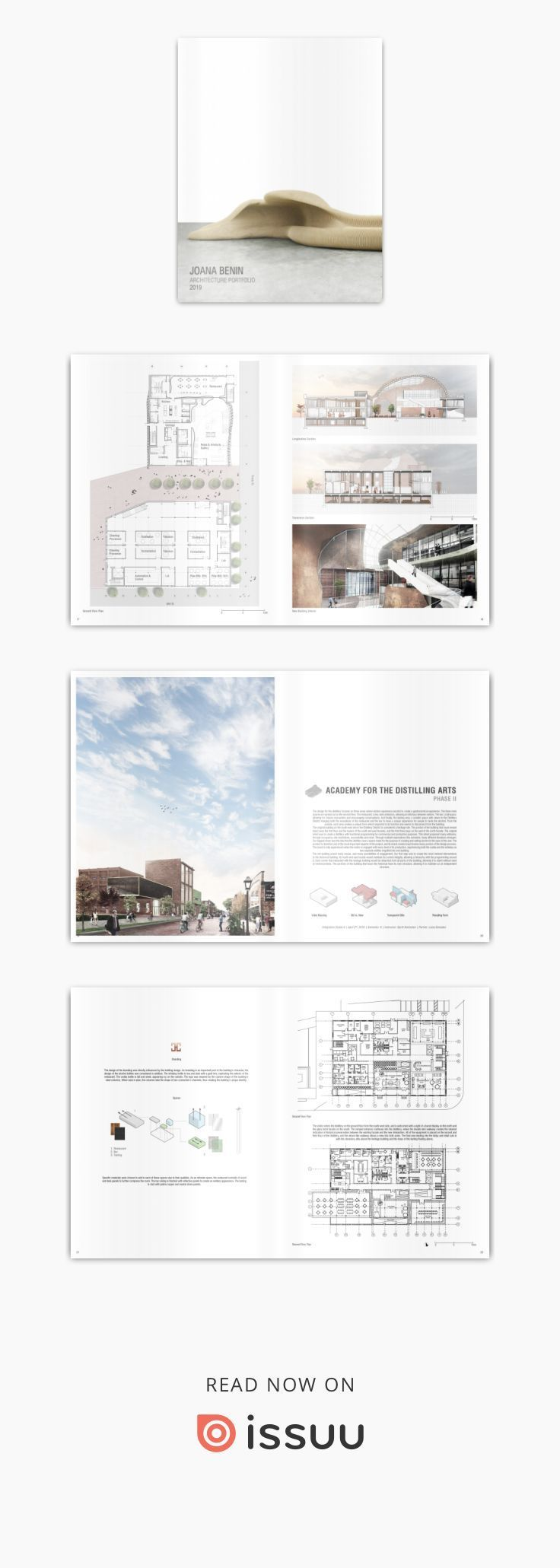 Joana Benin In 2020 Architecture Portfolio Layout Architecture Portfolio Examples Portfolio Cover Design
