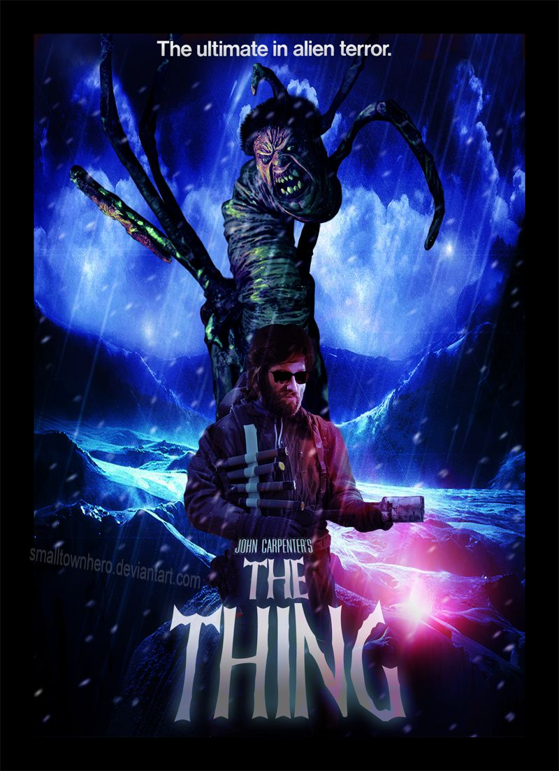 The Thing fanmade poster