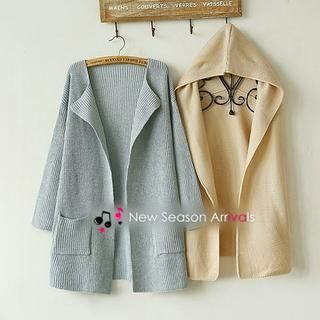 Buy 'Munai – Set: Knit Cardigan   Hooded Vest' with Free International Shipping at YesStyle.com. Browse and shop for thousands of Asian fashion items from China and more!