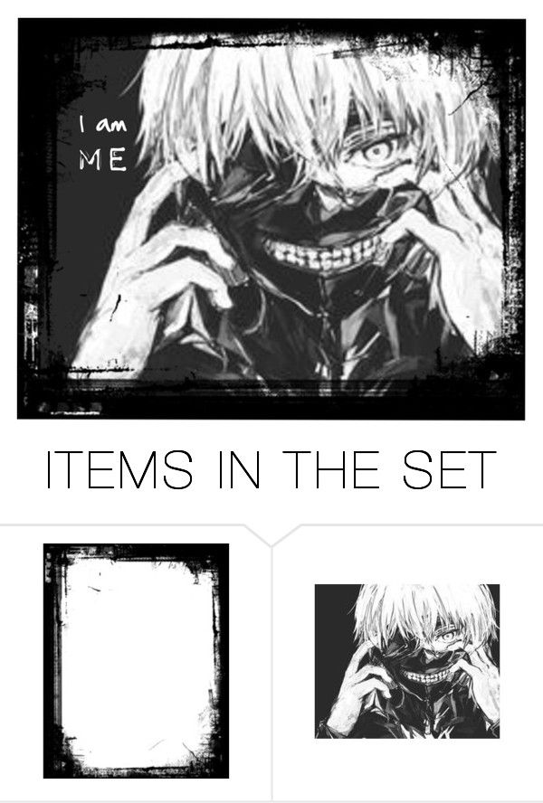 """Tokyo ghoul"" by dark-queen12 on Polyvore featuring art"