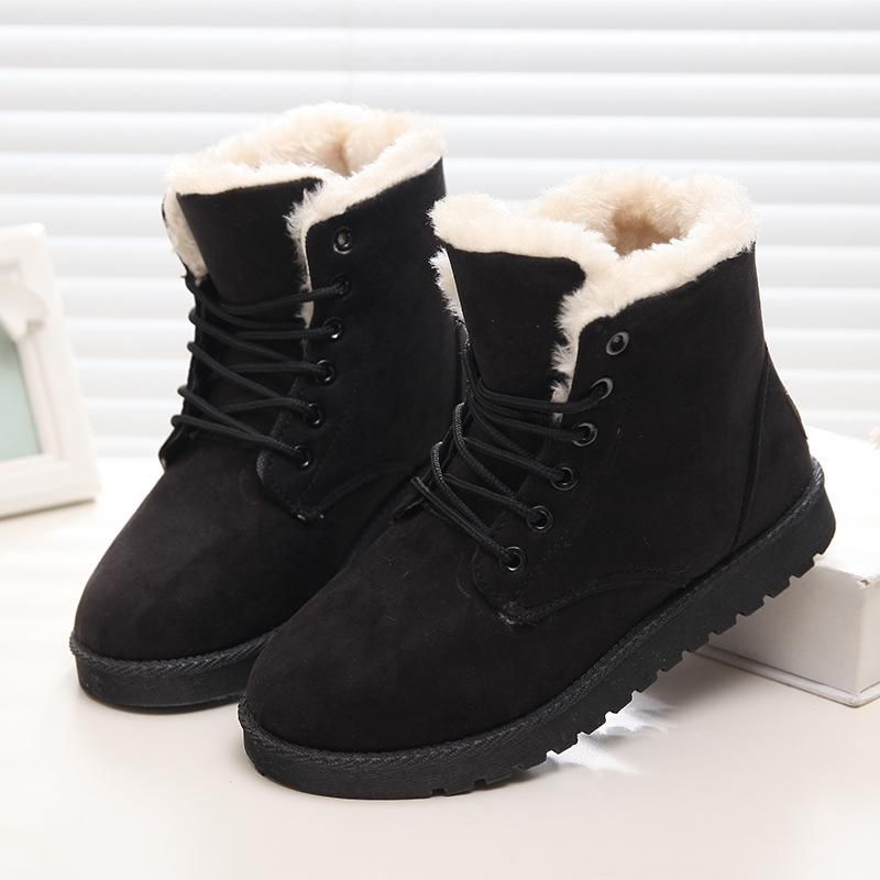 3634dbb680b Winter Boots Women Ankle Boots Classic Suede Snow Boots #fashion #style  #love #shopping #winter