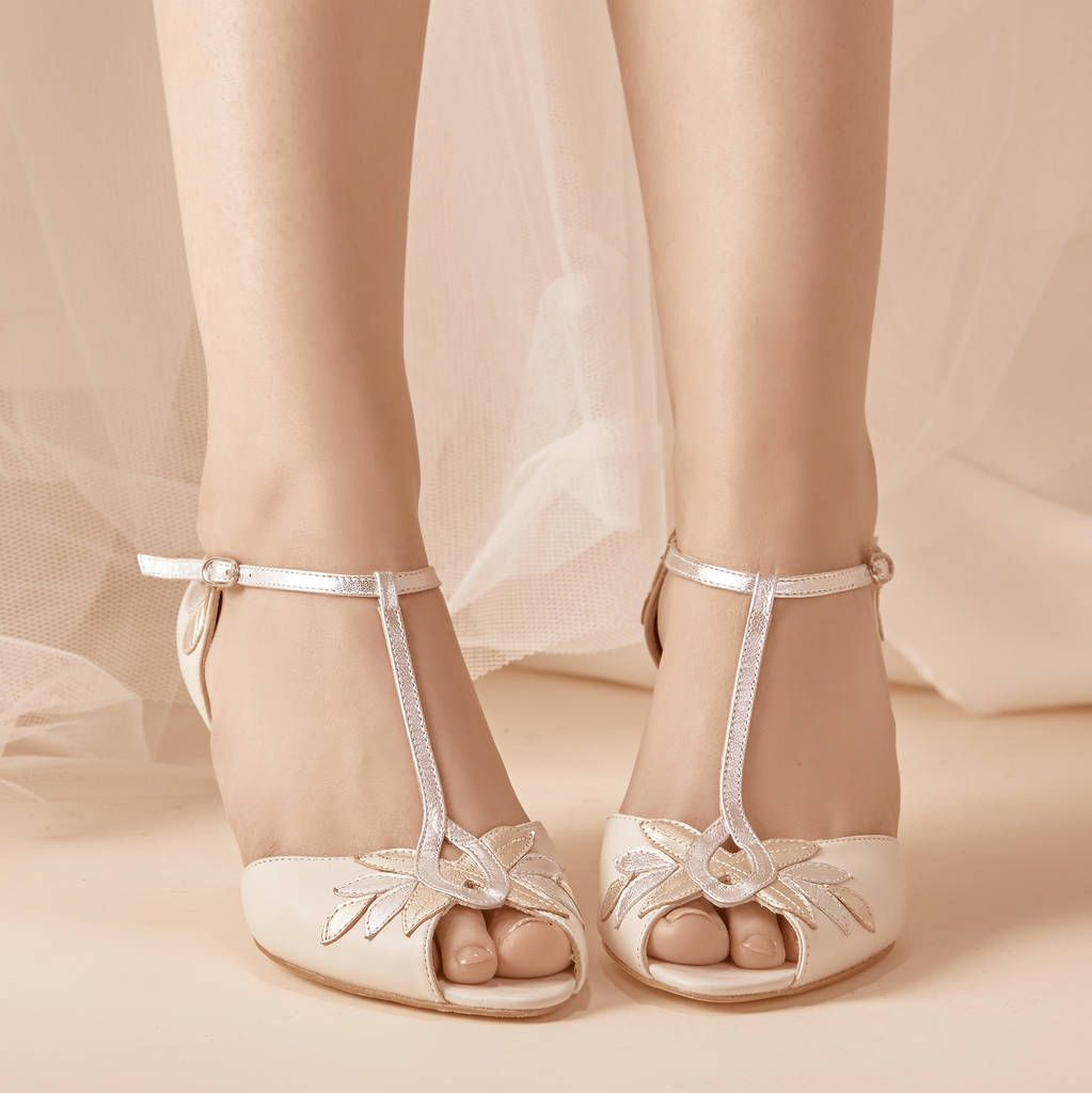 Are You Interested In Our Low Heel T Bar Shoes With Our Low Heel Wedding Shoes You Need Look No Further Wedding Shoes Heels Bride Shoes Bridal Shoes