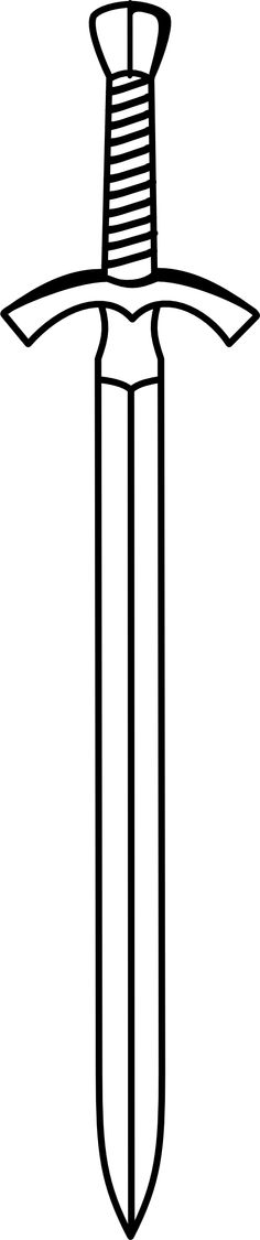 Sword fancy. Clipart two edged strength