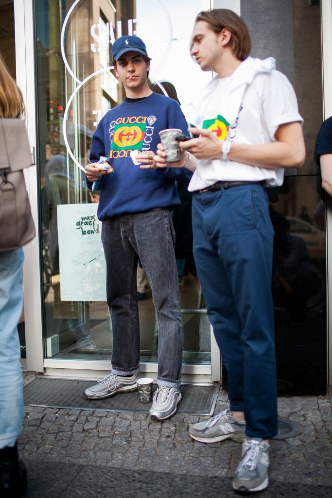 They Are Wearing Bright Seek Berlin Trade Shows Mens Street Style 90s Fashion Men 80s Fashion