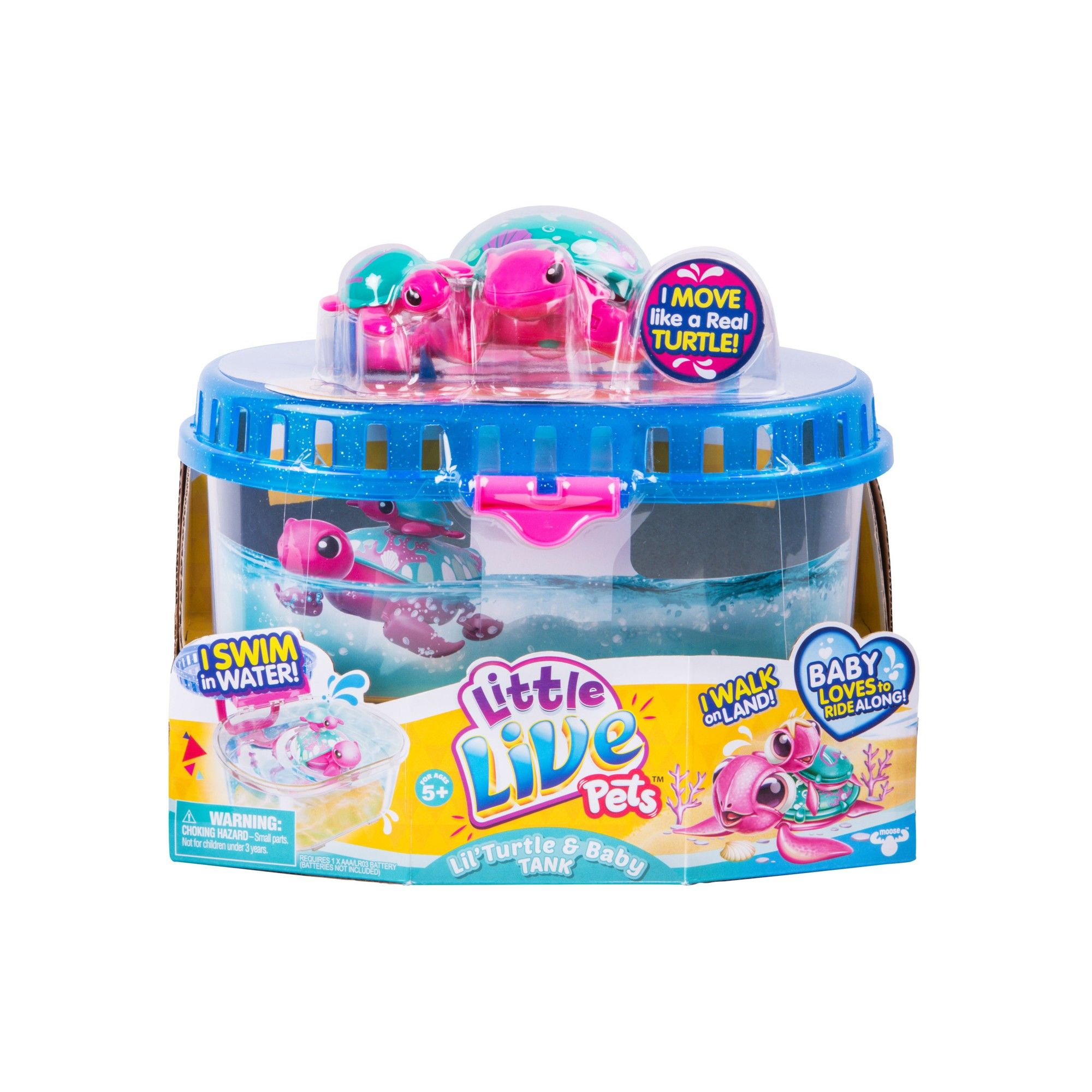Little Live Pets Season 5 Lil' Turtle Tank Products