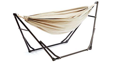 ハンモック業界の新革命! 寝られて座れる2WAYハンモックhttp://www.bepal.net/camping/camping-gear/13048