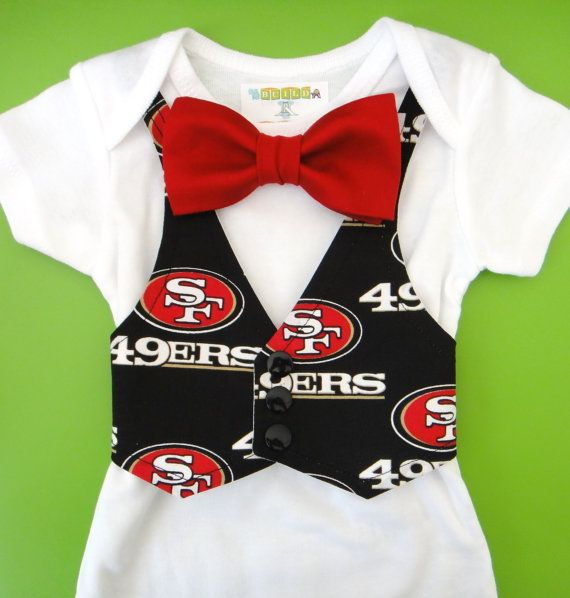 4322048a99d ... San Francisco 49ers Baby Boy Clothes San by NoahsBoytiques ...