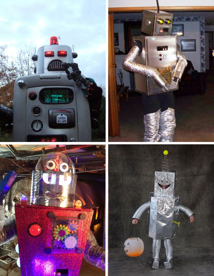 15 Epic Robot Costumes