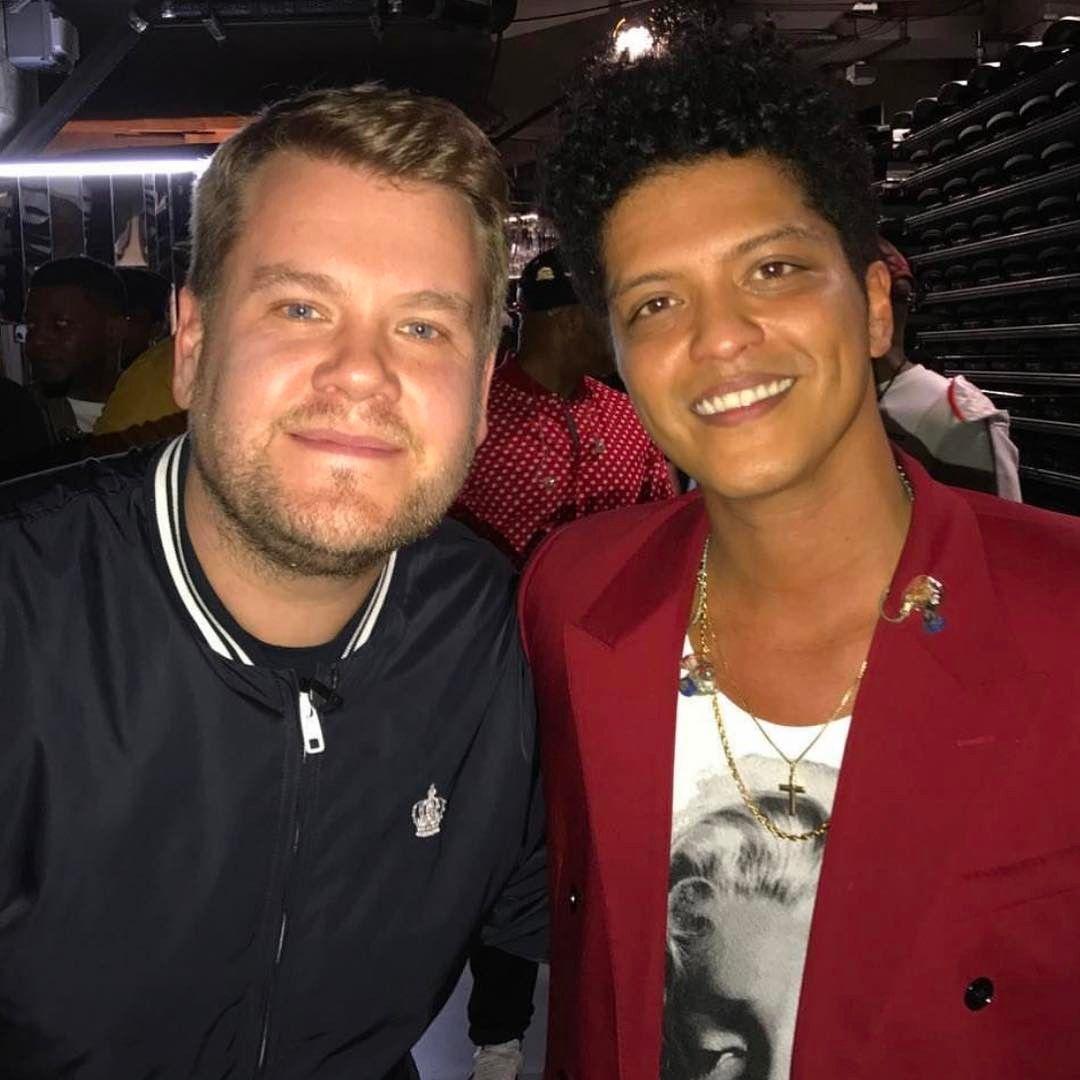 James Corden E Bruno Mars Bruno Mars Bruno Mars News Bruno
