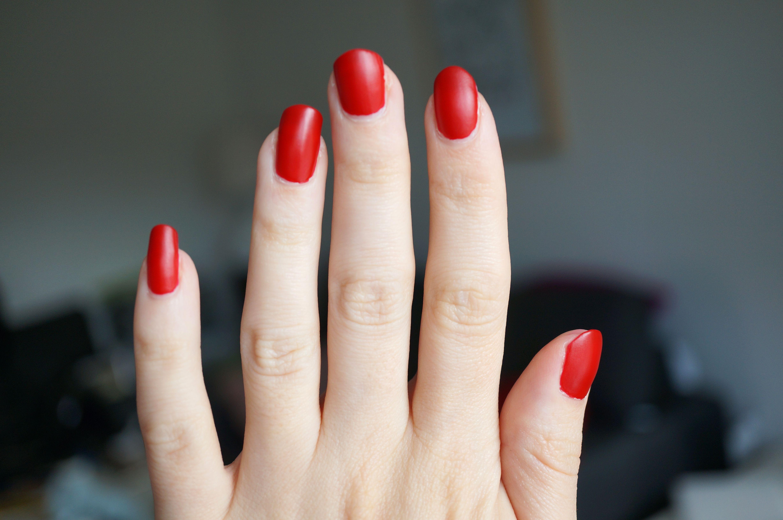 Matte Nail Polish Red | Best Nail Designs 2018