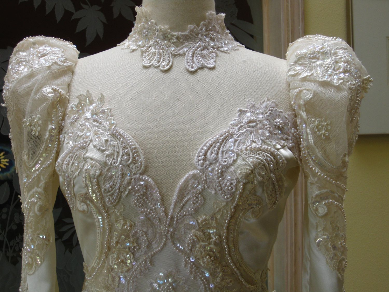 Vintage 80s Wedding Dress | Chandeliers & Pendant Lights | Vintage ...