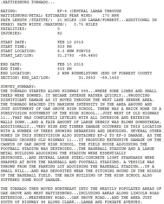 100 Feb 10th 2013 Hattiesburg Tornado Ideas Hattiesburg Tornado Southern Mississippi