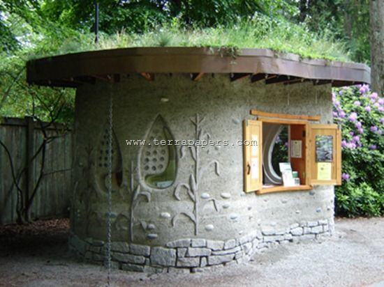Backyard cob shed idea help to learn how to build with - What to know before building a house ...