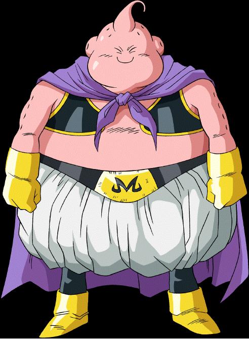 Majin Buu render 20 - DB Xkeeperz by maxiuchiha22 on DeviantArt | Dragon  ball super manga, Dragon ball artwork, Chibi dragon