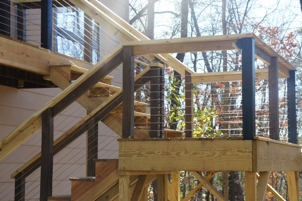 Best Diy Cable Railing Feeney Inc The Stairs Required 3 400 x 300