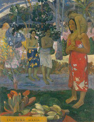Ia Orana Maria, par Paul Gauguin