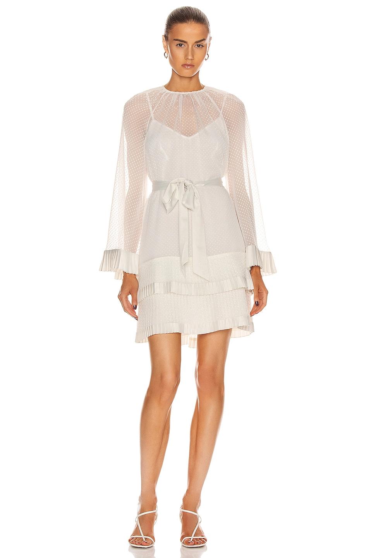 Zimmermann Tiered Flared White Mini Dress We Select Dresses White Mini Dress Mini Dress White Tiered Dress [ 1440 x 953 Pixel ]
