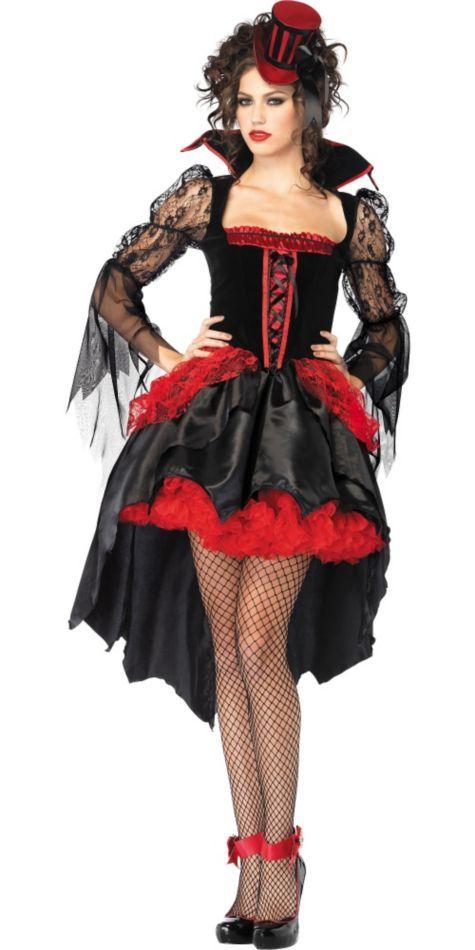 Adult Midnight Mistress Sexy V&ire Costume - Party City  sc 1 st  Pinterest & Adult Midnight Mistress Sexy Vampire Costume - Party City | Costumes ...