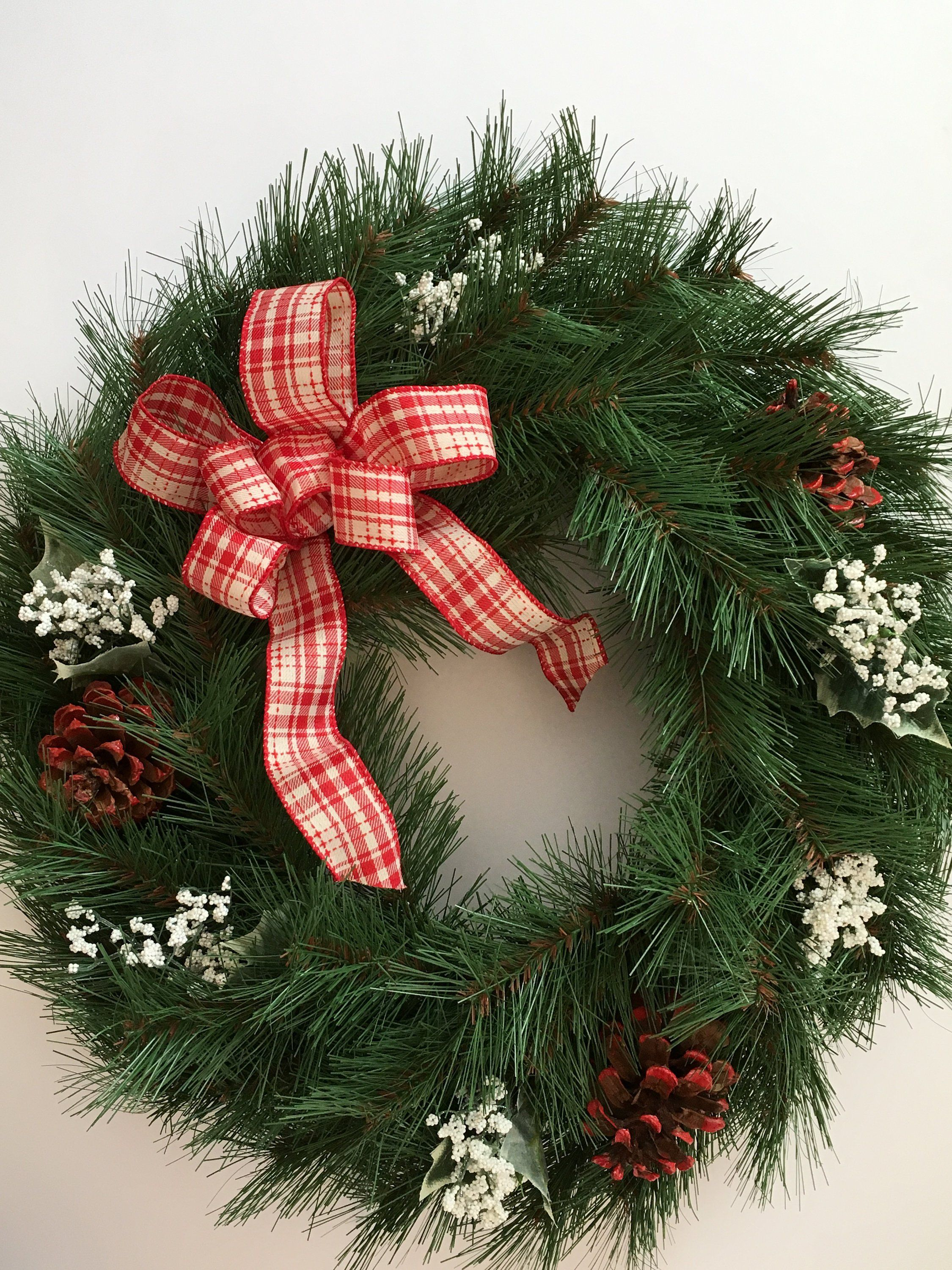 Holiday Wreath, Winter Wreath, Christmas Wreath, Front Door Wreath, Wreath,