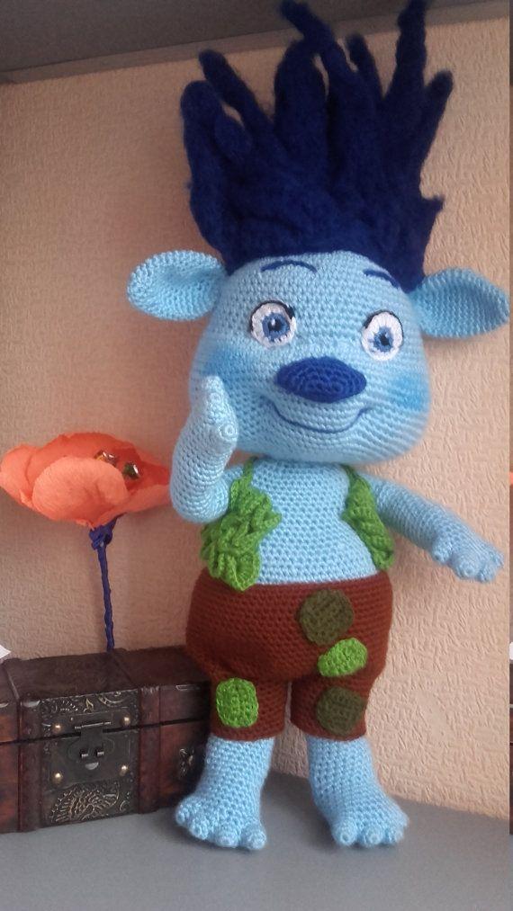 Troll Branch Poppy\'s friend Crochet Doll Amigurumi Doll Poppy ...