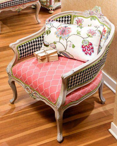 MacKenzie-Childs Chelsea Garden Occasional Chair | Bedroom Ideas ...