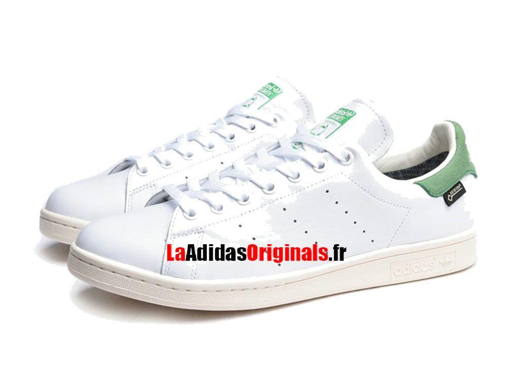 Adidas Originals Stan Smith GTX - Chaussure Pas Cher Pour Homme/Femme Blanc/Vert