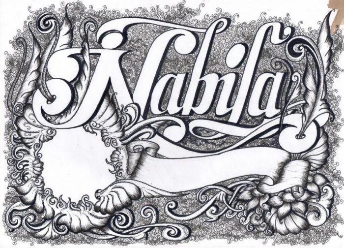 Contoh Gambar Tulisan Latin Di 2020 Kaligrafi Gambar Seni