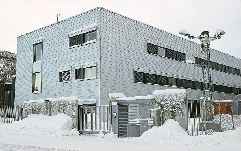 KARTLA JOURNALISTER: Etterretningsbataljonen på Setermoen i Indre Troms. Foto: FORSVARET.