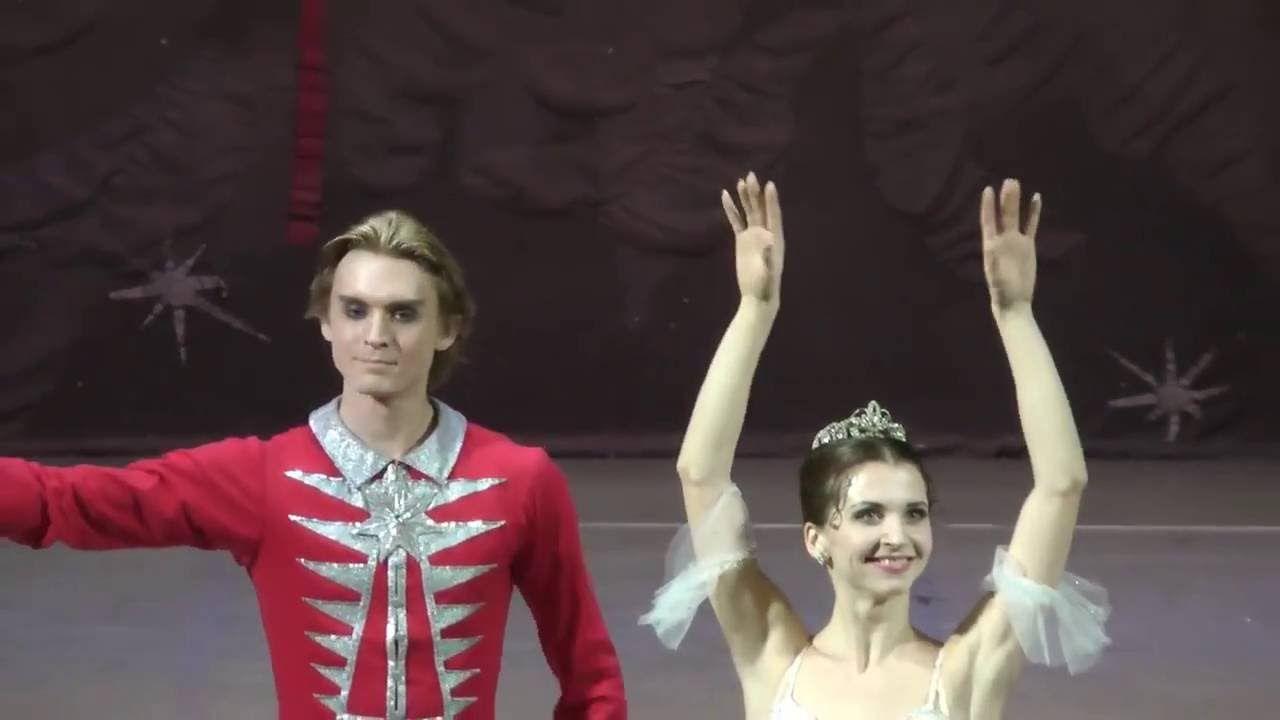 December 2015 Anna Tikhomirova, Denis Rodkin in Nutcracker in Italy, Sic...
