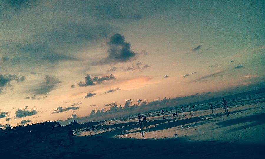 bagasbas beach. daet camarines norte