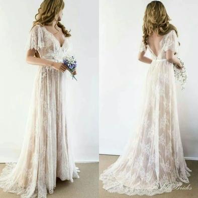 Wedding Dresses Lilac Wedding Dress Small Barn Wedding ...