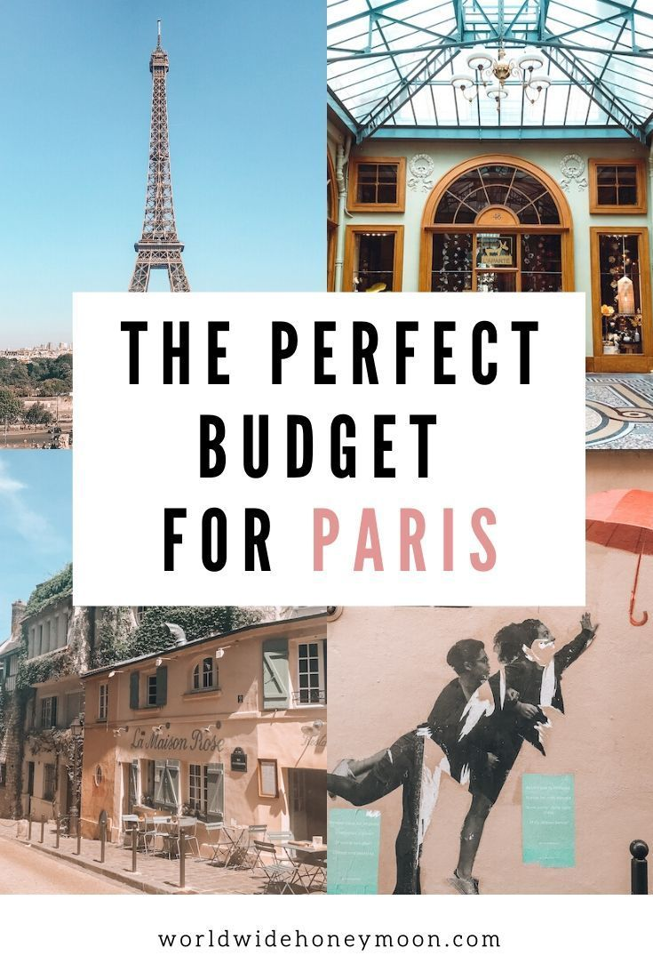 How much does a trip to paris cost the perfect budget for