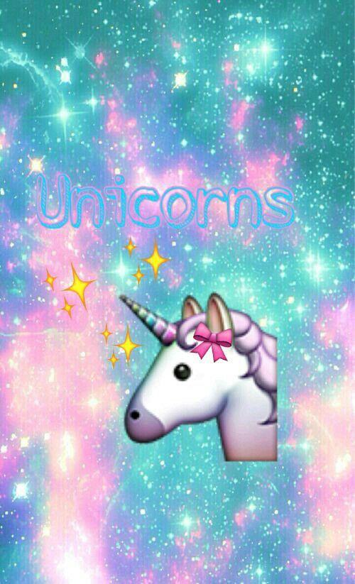Linda Foto Para Fondo De Pantalla O Perfil Unicorn Emoji Wallpapers Unicorn Wallpaper Emoji Wallpaper