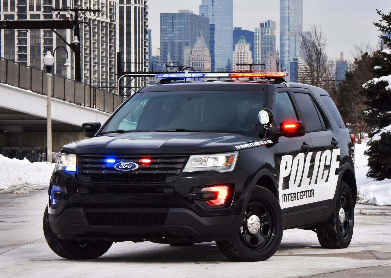 New 2017 Ford Explorer 4wd Police Interceptor Sport Utility For