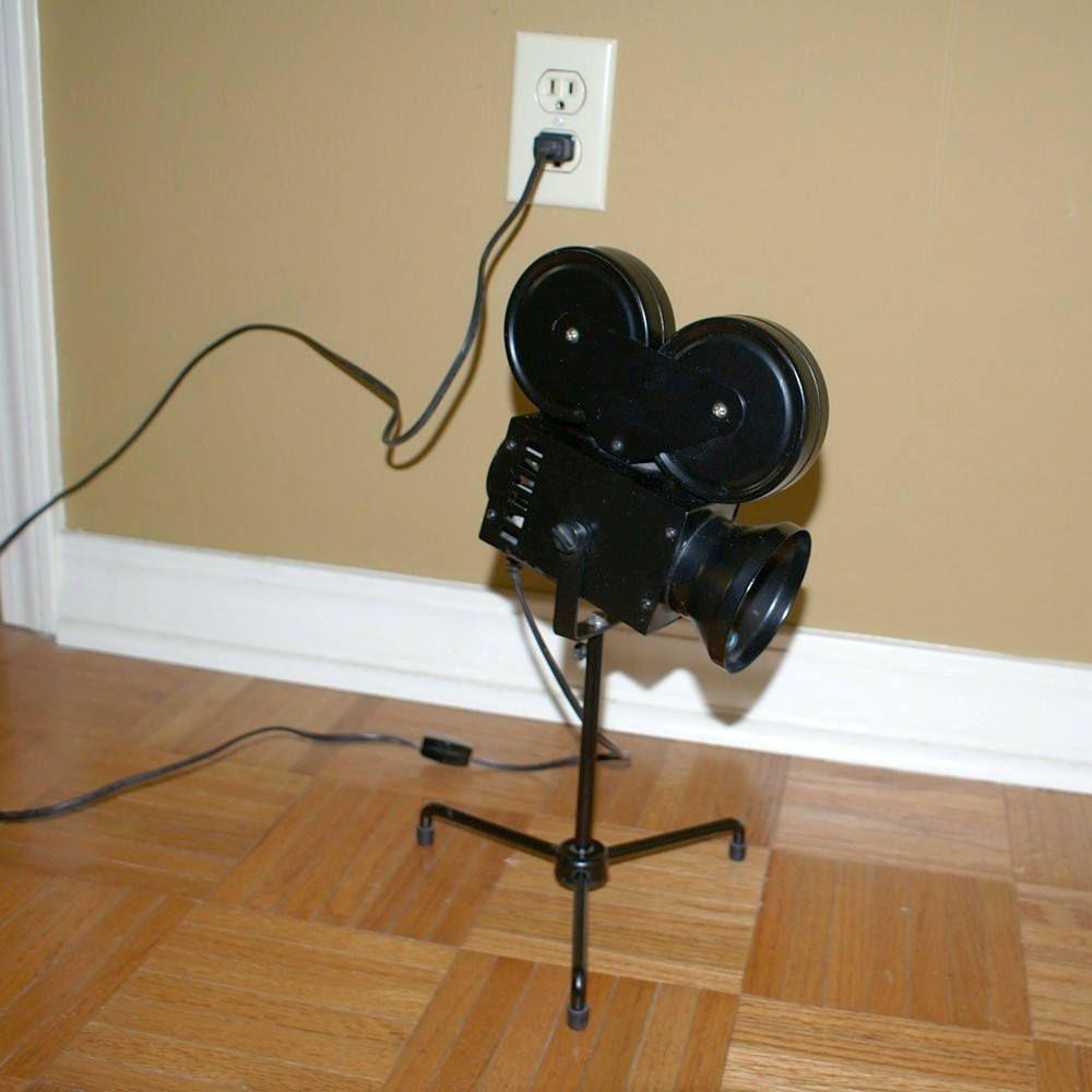 movie camera desk lamp – Franconiaski