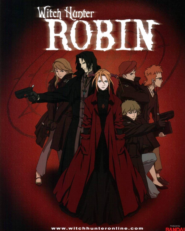 Amon (Witch Hunter Robin) - Zerochan Anime Image Board
