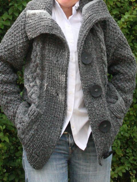tricot - Mes jours trop courts - Veste La Droguerie