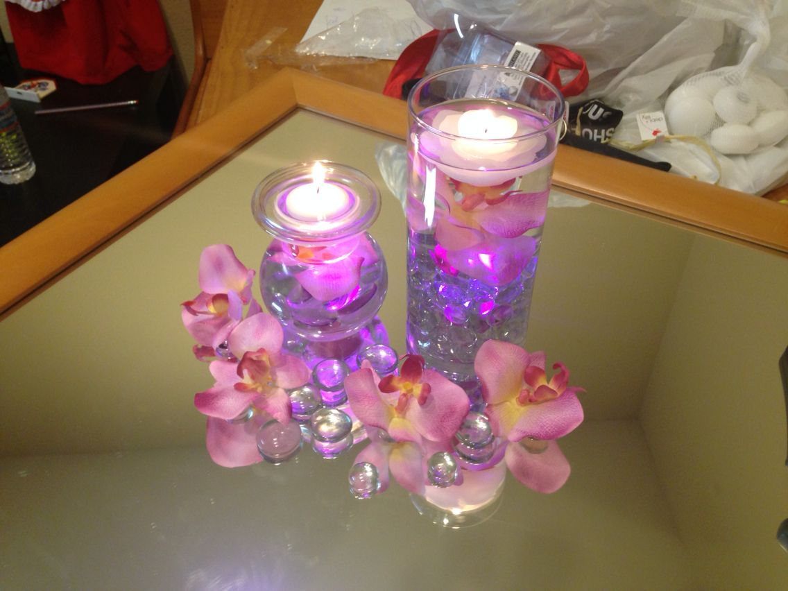 One idea for weddjng center piece