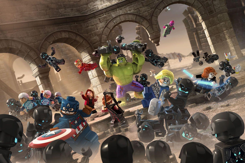 Lego Marvel Avengers Races