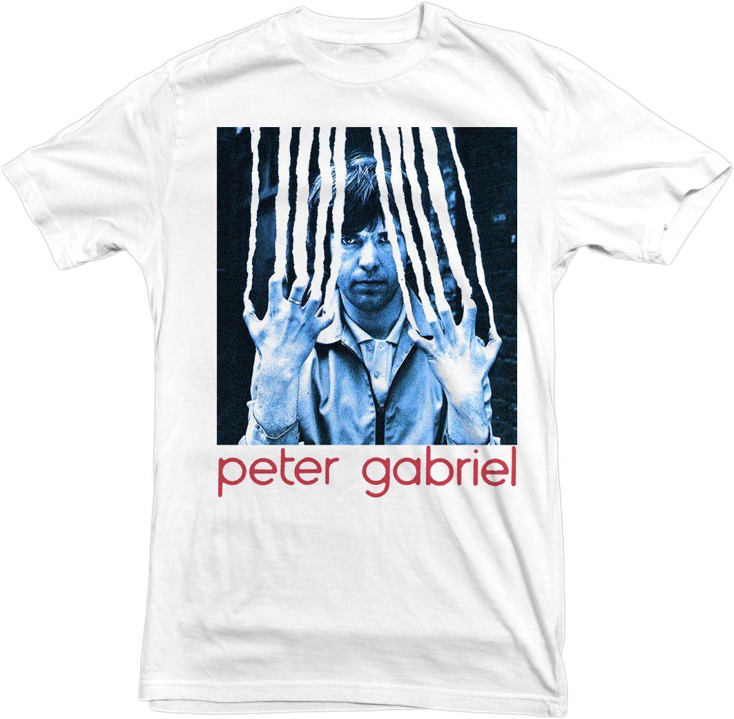 Desain t shirt unik - Peter Gabriel Scratch Shirt Genesis Yes King Night Channels