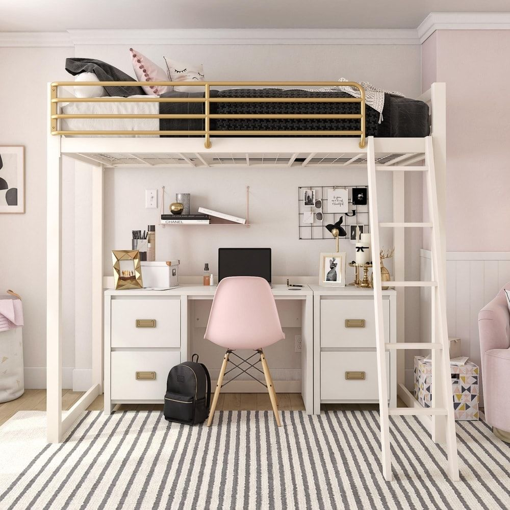 Overstock Com Online Shopping Bedding Furniture Electronics Jewelry Clothing More Loft Beds For Teens Girls Loft Bed White Loft Bed