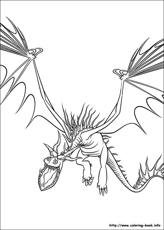 HTTYD Coloring Page