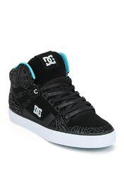 7495 DC Spartan Hi Wc Se Black Sneakers