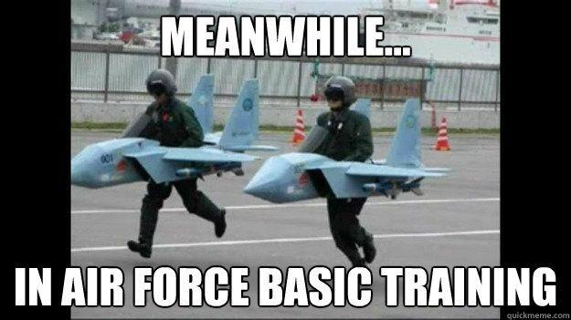 Funny Training Meme : Airfarce basic training airforce military pinterest