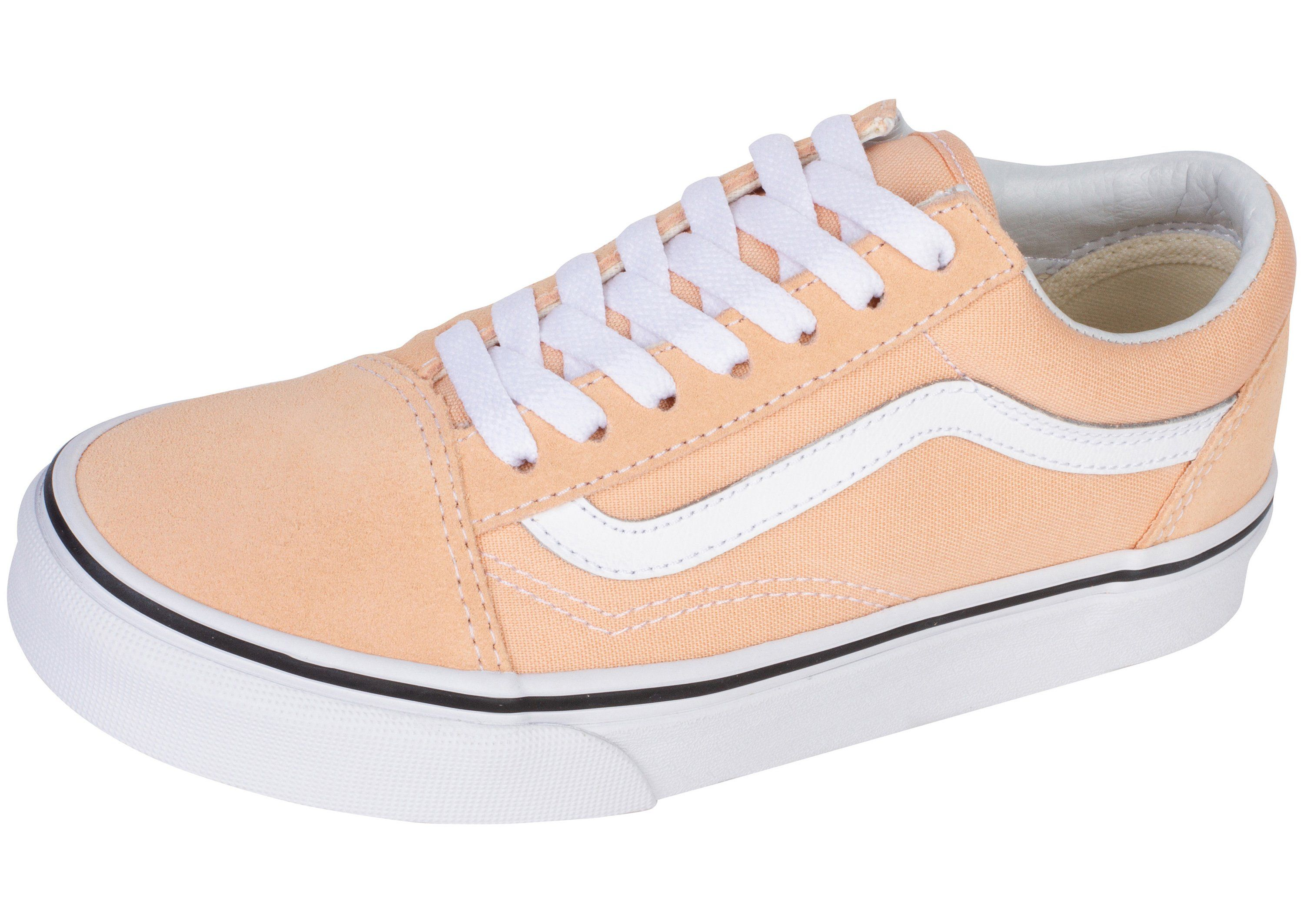 38e3a440 Vans Old Skool Bleached Apricot True White | Style in 2019 | Vans ...